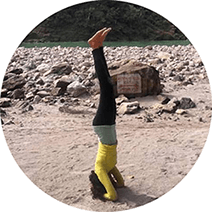 Bhakti Raval Yoga - Yoga Teacher - Rishikesh, India - Asana - Sthira Chitta Yoga