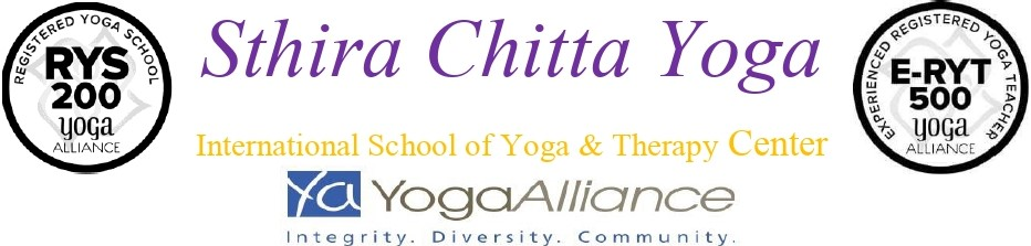 Yoga Alliance - Sthira Chitta Yoga