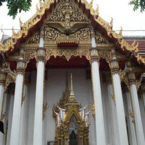 Templo, Tailandia - Sthira Chitta Yoga