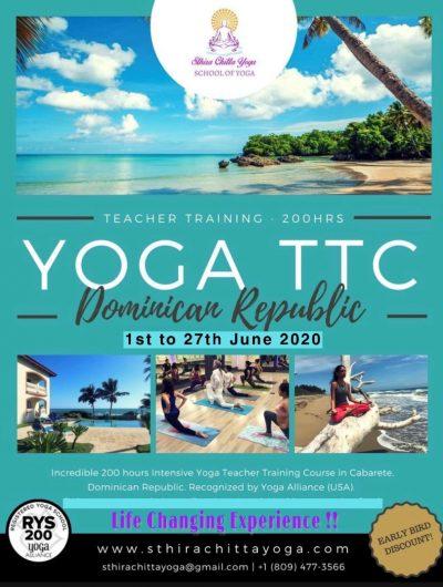 Yoga Teacher Training Course - 200 Hours - June 2020 - Sthira Chitta Yoga School