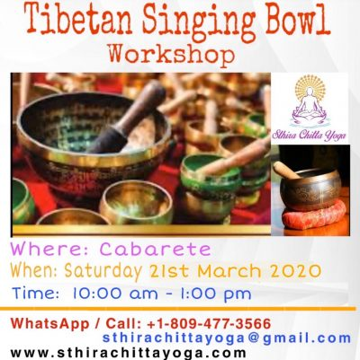 Tibetan Singing Bowl Workshop - Sthira Chitta Yoga School