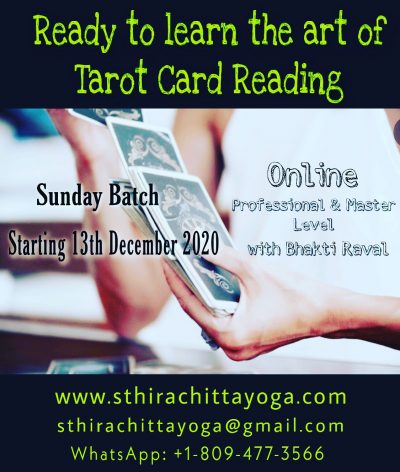 Tarot Courses - Stira Chitta Yoga