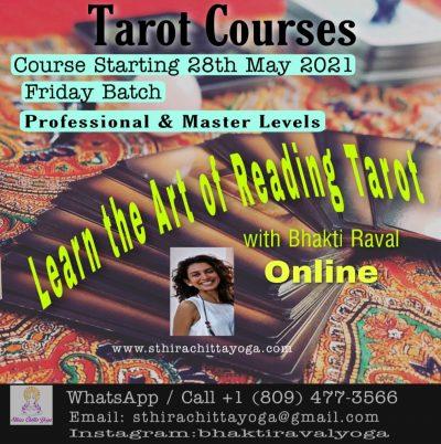 Tarot Course - Sthira Chitta Yoga School